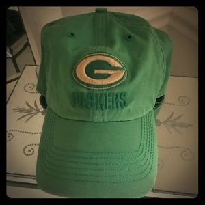 Green Bay Packers osfa green baseball cap